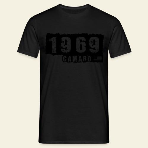 1969 Camaro T-shirt  - Herre-T-shirt