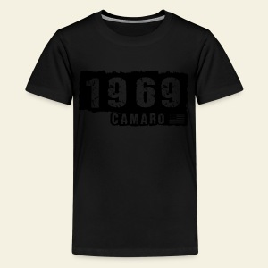 1969 Camaro T-shirt  - Teenager premium T-shirt