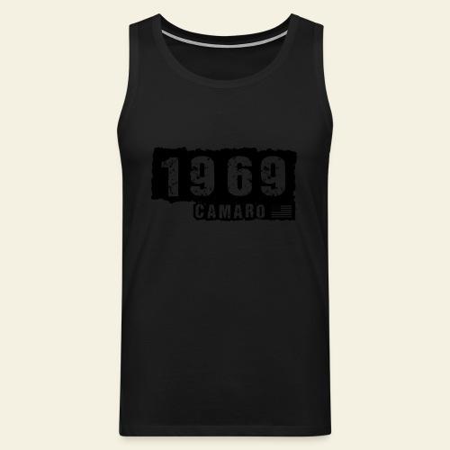 1969 Camaro T-shirt  - Herre Premium tanktop
