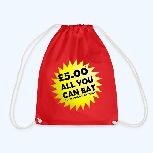 Special Offer Ladies T-Shirt - Drawstring Bag