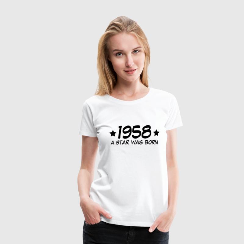 1958 a star was born (de) T-Shirts - Frauen Premium T-Shirt