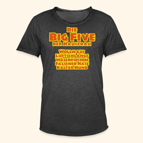 Die Big Five der Hausfrau, Kerlie - Männer Vintage T-Shirt