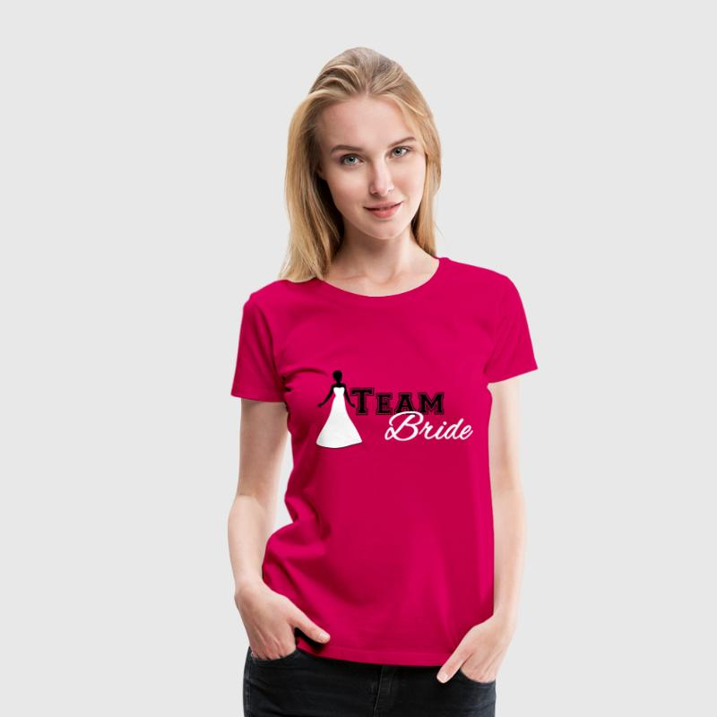 Team Bride T-Shirts - Frauen Premium T-Shirt