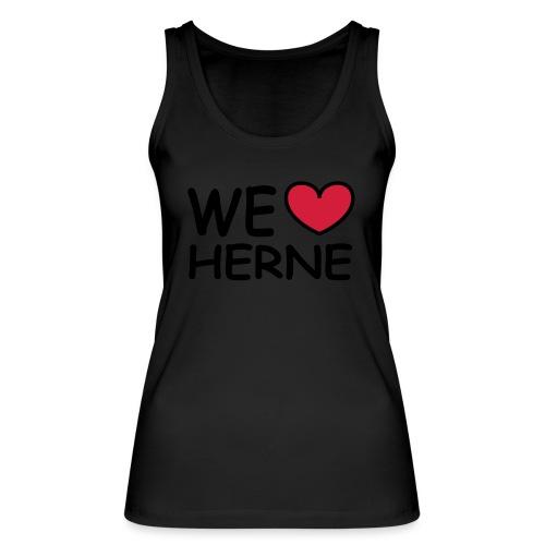 WE ♥ HERNE - Girlieshirt - Frauen Bio Tank Top von Stanley & Stella