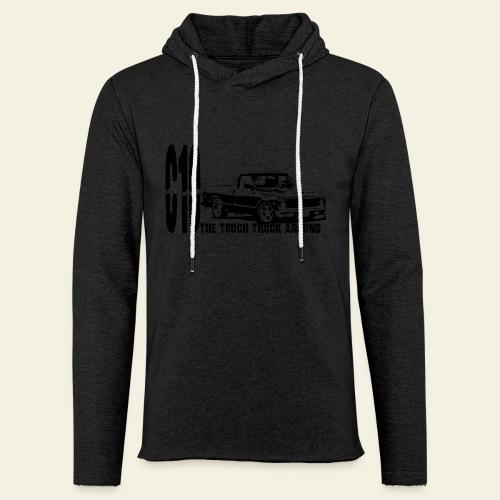 Chevy C10 truck  - Let sweatshirt med hætte, unisex