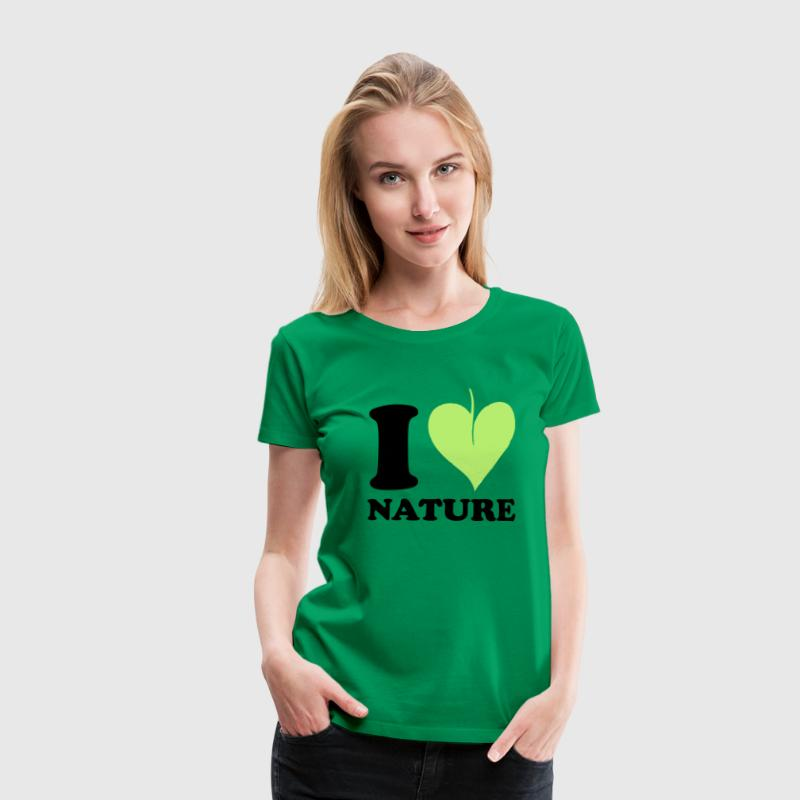 I love Nature T-Shirts - Women's Premium T-Shirt
