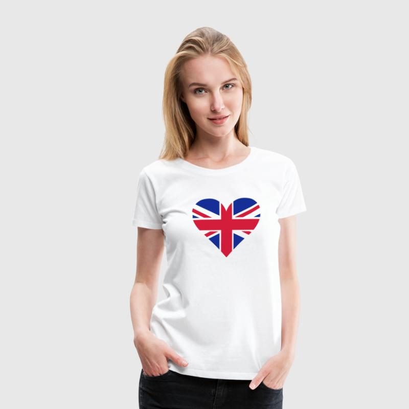 UK Heart London T-Shirts - Women's Premium T-Shirt