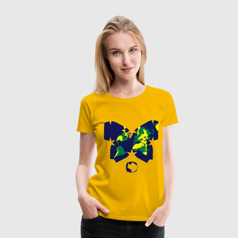 Waterman Butterfly Projection Color - Frauen Premium T-Shirt