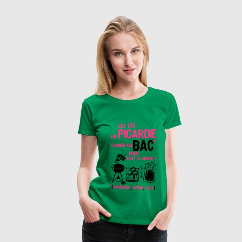 bac picardie barbecue apero cuite biere Tee shirts - T-shirt Premium Femme