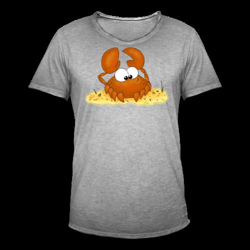 Strandkrabbe - Männer Vintage T-Shirt