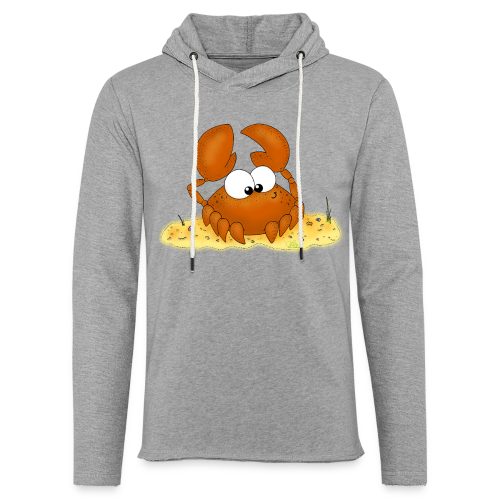 Strandkrabbe - Leichtes Kapuzensweatshirt Unisex