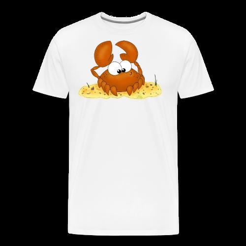 Strandkrabbe - Männer Premium T-Shirt