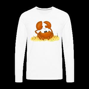 Strandkrabbe - Männer Premium Langarmshirt