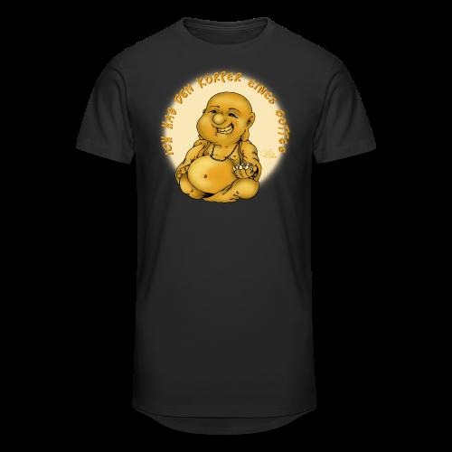 Göttlicher Körper (extragroß) - Männer Urban Longshirt