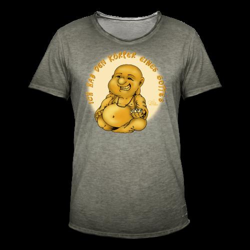 Göttlicher Körper (extragroß) - Männer Vintage T-Shirt