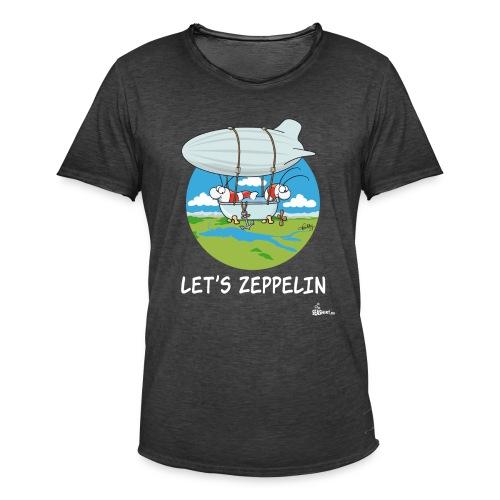 Let's Zeppelin - Männer Vintage T-Shirt