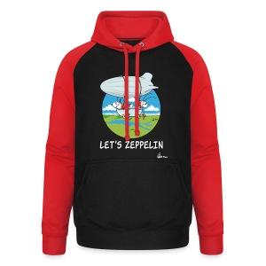 Let's Zeppelin - Unisex Baseball Hoodie