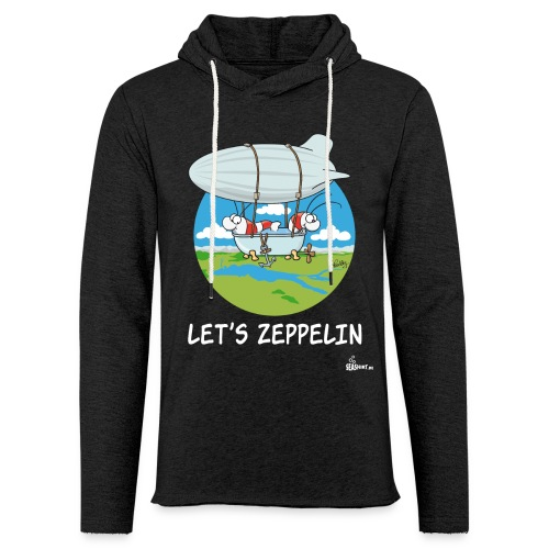 Let's Zeppelin - Leichtes Kapuzensweatshirt Unisex