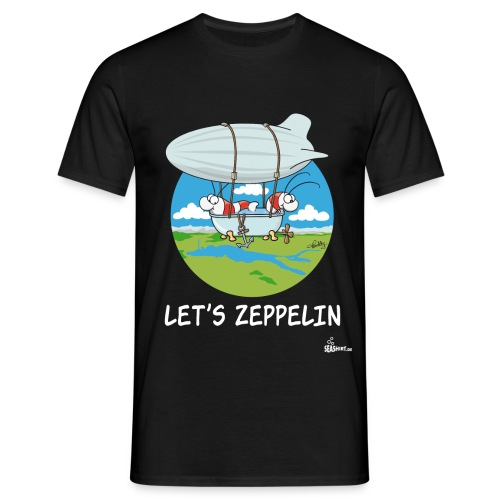 Let's Zeppelin - Männer T-Shirt