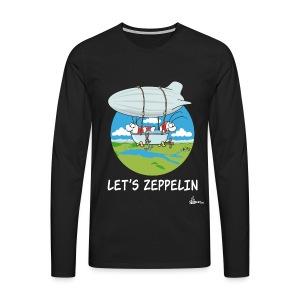Let's Zeppelin - Männer Premium Langarmshirt