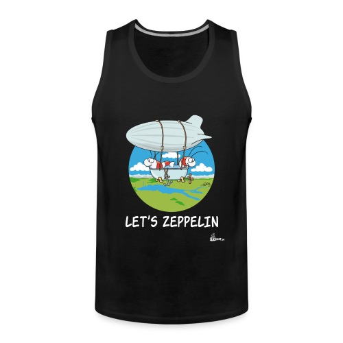 Let's Zeppelin - Männer Premium Tank Top