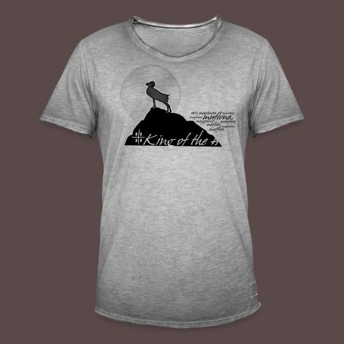 Muflone, King of the Hill - Maglietta vintage da uomo
