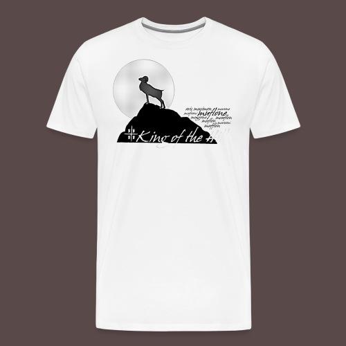 Muflone, King of the Hill - Maglietta Premium da uomo