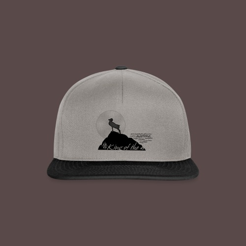 Muflone, King of the Hill - Snapback Cap