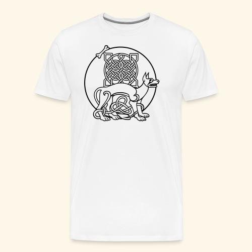 Celtic Fido - Männer Premium T-Shirt