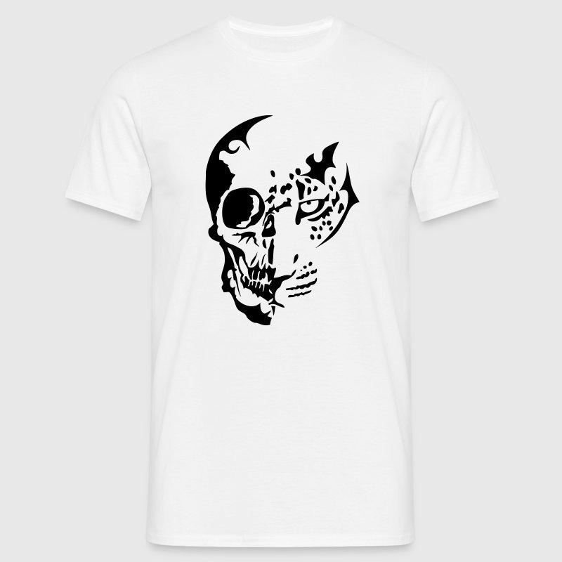 tribal tete mort dead leopards1 Tee shirts - T-shirt Homme