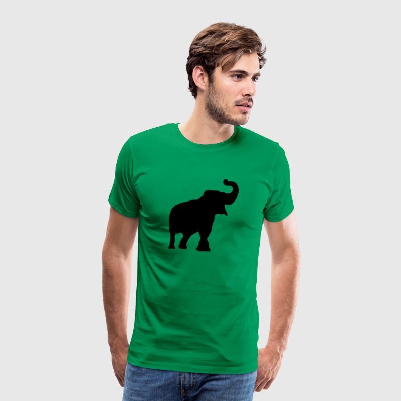 elephant silhouette ombre shadow3 Tee shirts - T-shirt Premium Homme