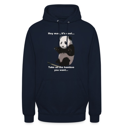 Please, take the bamboo - Unisex Hoodie