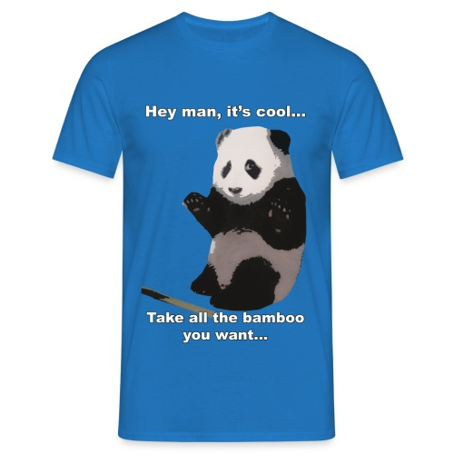 Please, take the bamboo - Men's T-Shirt