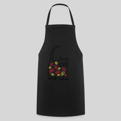schöne katze - Kochschürze