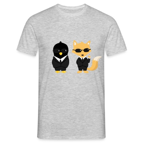 Geeks in black Tee shirts - T-shirt Homme