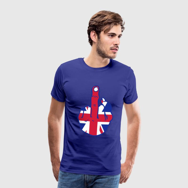 united kingdom fuck design Tee shirts - T-shirt Premium Homme