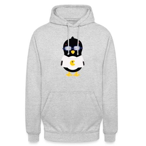 Pingouin Geek Tee shirts - Sweat-shirt à capuche unisexe