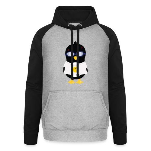 Pingouin Geek Tee shirts - Sweat-shirt baseball unisexe