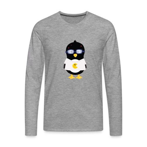 Pingouin Geek Tee shirts - T-shirt manches longues Premium Homme