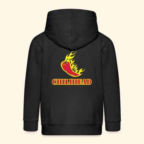 Chilihead, Flaming Pepper, Biggie - Kinder Premium Kapuzenjacke