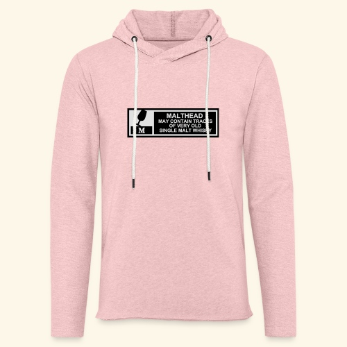 Malthead Warning, Girlie - Leichtes Kapuzensweatshirt Unisex