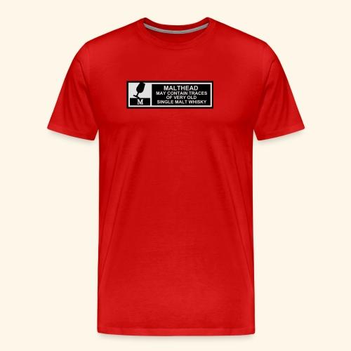 Malthead Warning, Girlie - Männer Premium T-Shirt