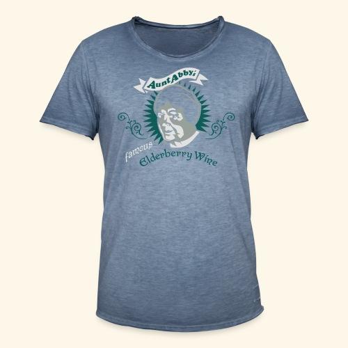Aunt Abby's Elderberry Wine, Biggie - Männer Vintage T-Shirt