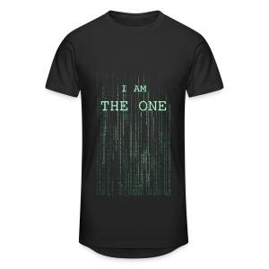 I am the one - Men's Long Body Urban Tee