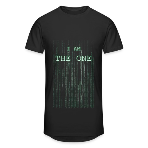 I am the one - Men's Long Body Urban Tee