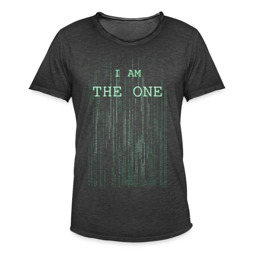 I am the one - Men's Vintage T-Shirt