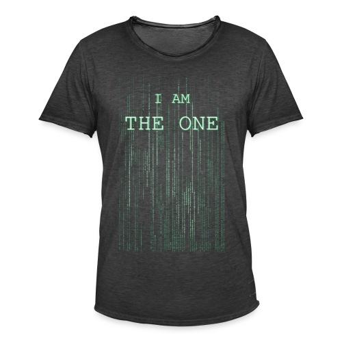 I am the one - Men's Vintage T-Shirt