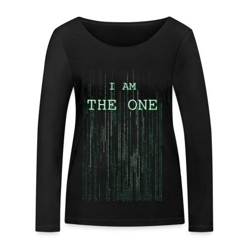 I am the one - Women's Organic Longsleeve Shirt by Stanley & Stella