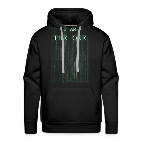 I am the one - Men's Premium Hoodie