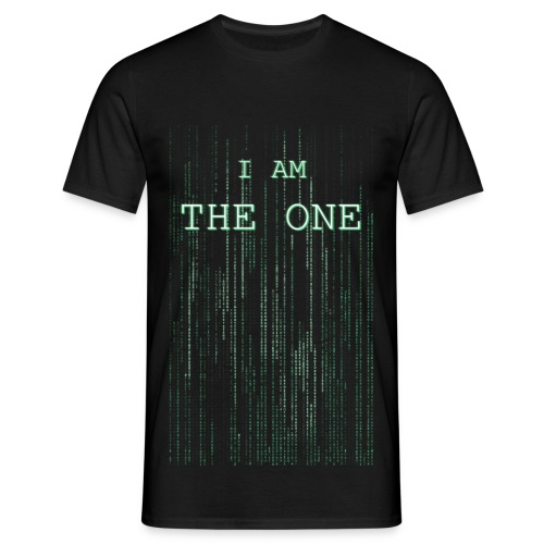 I am the one - Men's T-Shirt